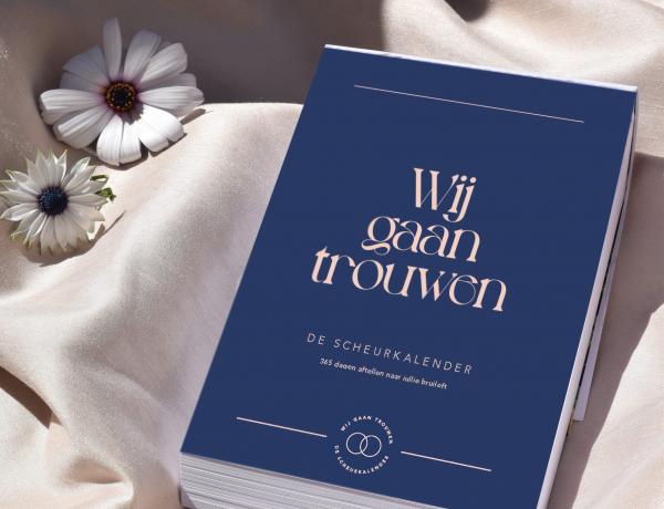 de scheurkalender voor je bruiloft